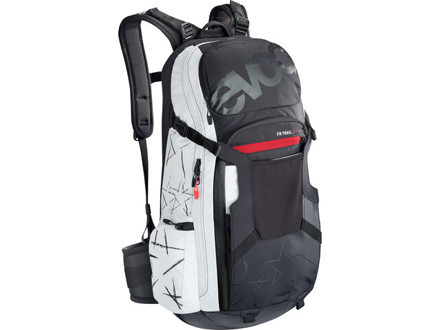 EVOC FR Trail Unlimited Protector Backpack 20l Women, black/white